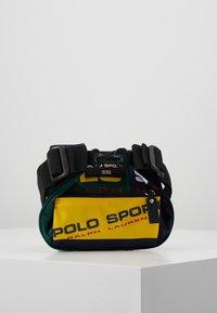Polo Ralph Lauren - SPORT  - Bum bag - navy/green/yellow - 5