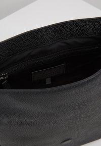 Polo Ralph Lauren - PEBBLE FLIGHT BAG - Umhängetasche - black - 4