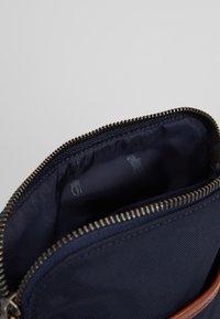 Polo Ralph Lauren - CROSSBODY - Taška spříčným popruhem - navy - 5