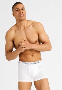 Polo Ralph Lauren - POUCH TRUNKS 3 PACK - Shorty - white/red/blue - 0