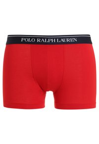 Polo Ralph Lauren - POUCH TRUNKS 3 PACK - Shorty - white/red/blue - 6