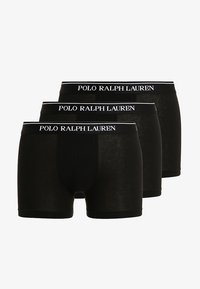Polo Ralph Lauren - POUCH TRUNKS 3 PACK - Onderbroeken - 3er-Pack - black - 3