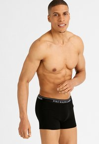 Polo Ralph Lauren - POUCH TRUNKS 3 PACK - Culotte - 3er-Pack - black - 0