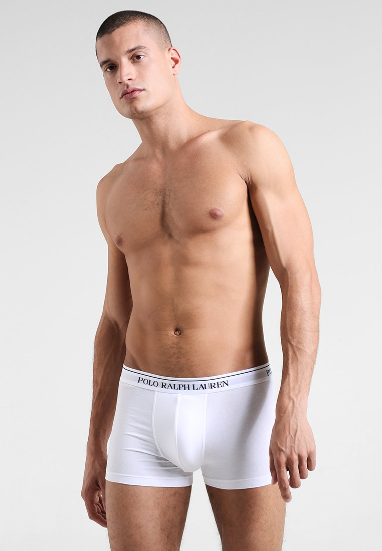 Polo Ralph Lauren - POUCH TRUNKS 3 PACK - Culotte - white/heather/black