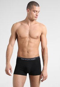 Polo Ralph Lauren - POUCH TRUNKS 3 PACK - Culotte - white/heather/black - 4