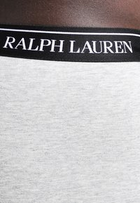 Polo Ralph Lauren - POUCH TRUNKS 3 PACK - Onderbroeken - andover heather/black/white - 3