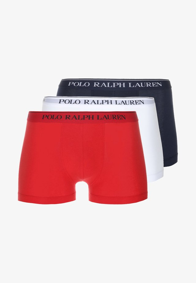 POUCH TRUNKS 3 PACK - Shorty - dark blue/white/red
