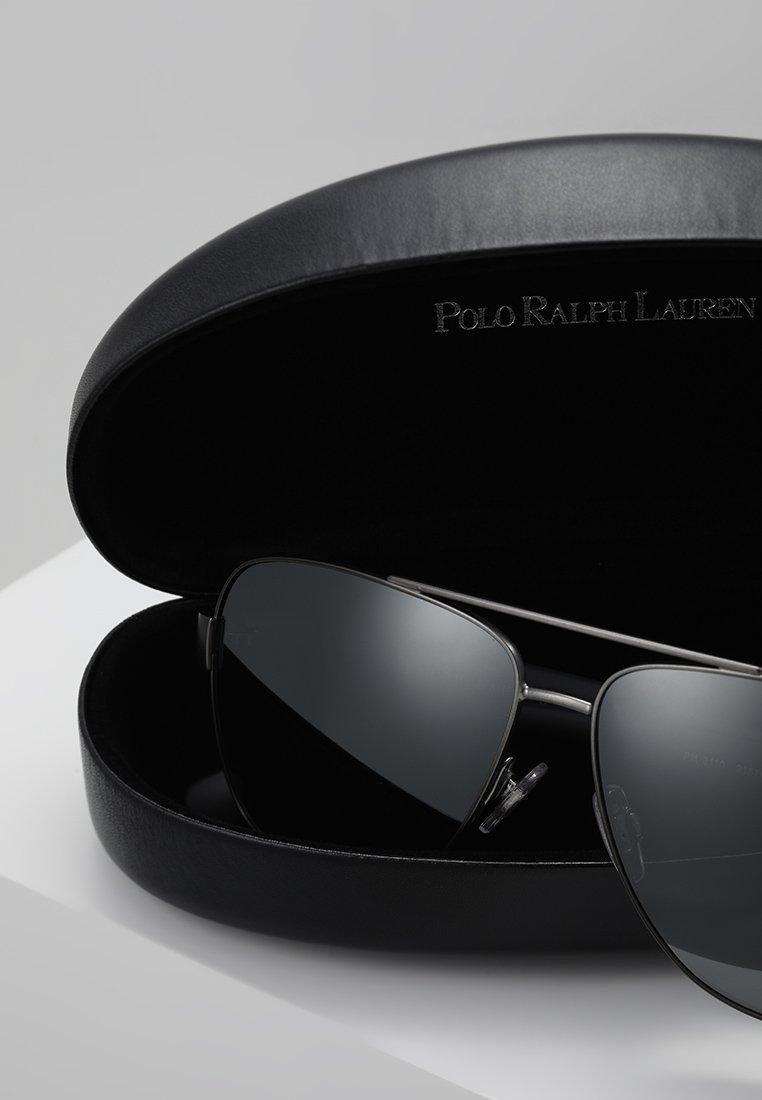 Polo Ralph Lauren Lunettes Gunmetal SoleilDark De mirror Silver v0NmnwO8