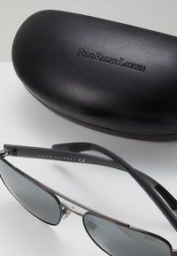 Polo Ralph Lauren - Sunglasses - semishiny dark gunmetal/silvercoloured mirror - 2