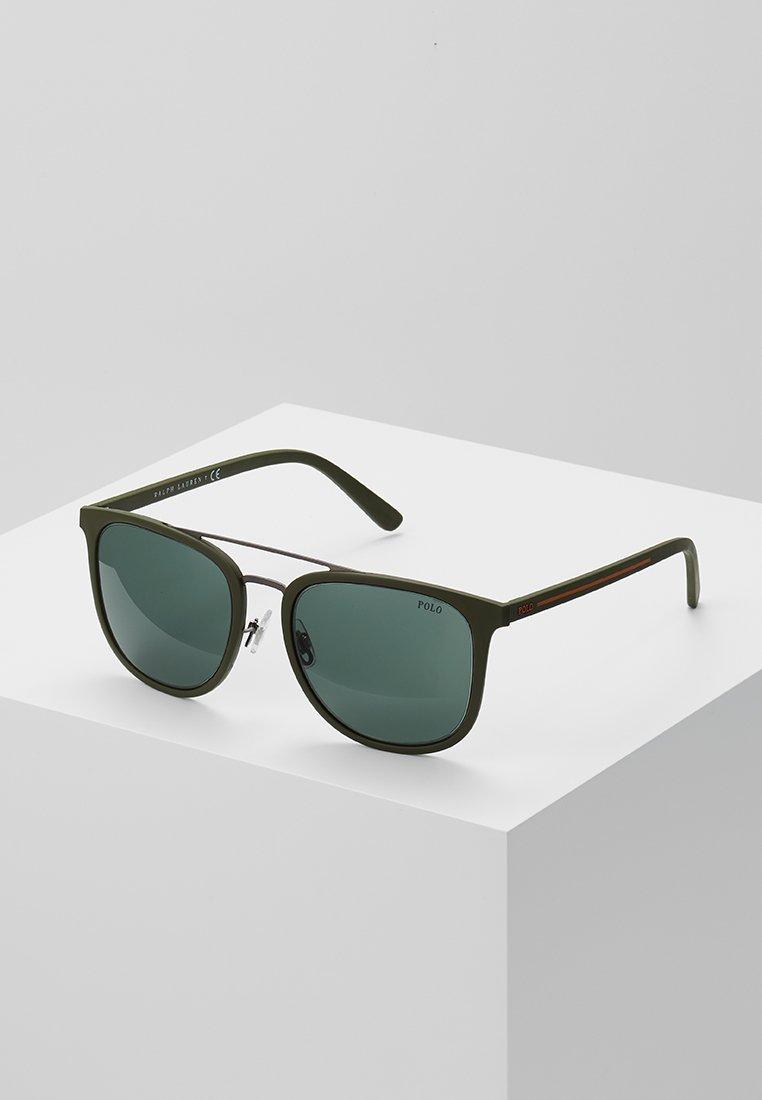 Polo Ralph Lauren - Zonnebril - gunmetal/olive green/green