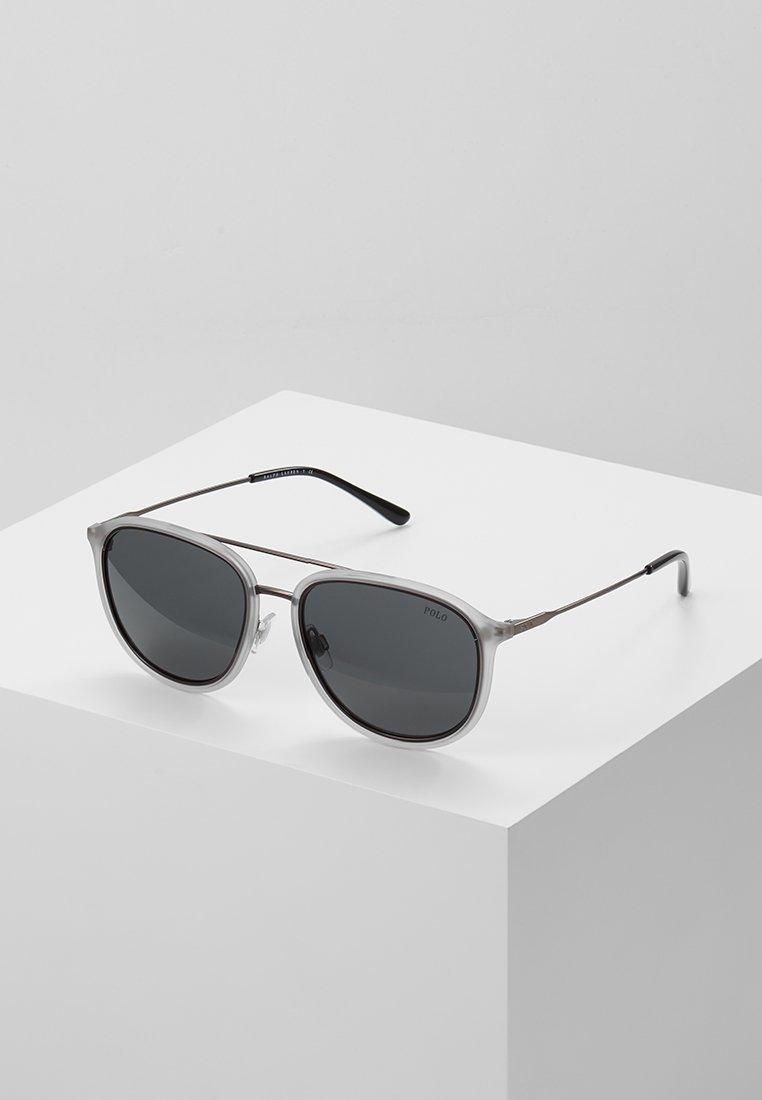 Polo Ralph Lauren - Sunglasses - matte transparent grey/dark gunmetal