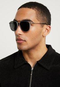 Polo Ralph Lauren - Sunglasses - matte transparent grey/dark gunmetal - 1