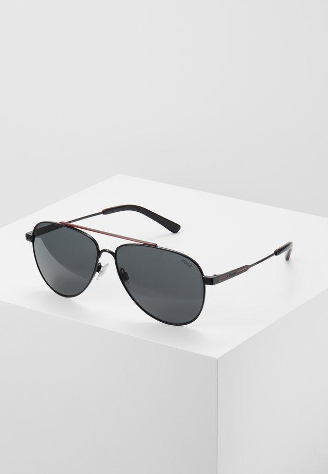 Sunglasses - black/red