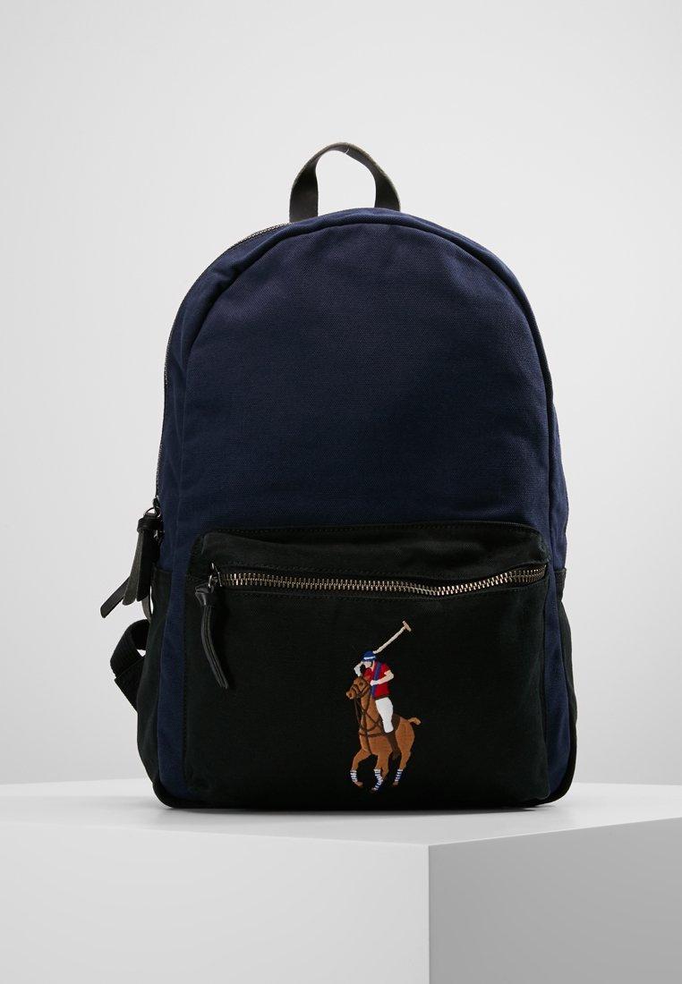 Polo Ralph Lauren - MULTI BACKPACK - Tagesrucksack - navy/black