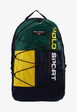 SPORT - Mochila - navy/green/yellow