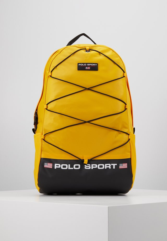 BACKPACK - Ryggsäck - yellow