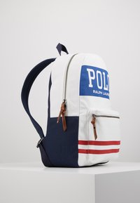 Polo Ralph Lauren - BIG BACKPACK - Rugzak - white - 4