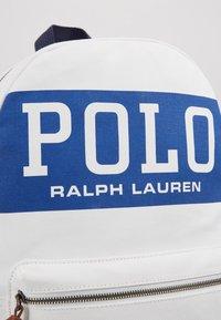 Polo Ralph Lauren - BIG BACKPACK - Rugzak - white - 2