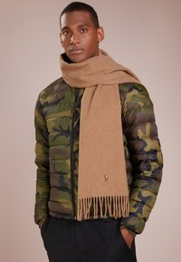 Polo Ralph Lauren - COLDWEATHER SIGN IT - Écharpe - brown - 0