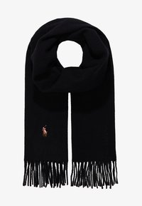 Polo Ralph Lauren - COLDWEATHER SIGN IT - Sciarpa - black - 1