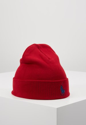 Beanie - park avenue red