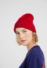 Polo Ralph Lauren - Beanie - park avenue red - 3