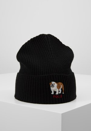 BULLDOG HAT - Bonnet - black
