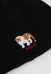 Polo Ralph Lauren - BULLDOG HAT - Czapka - black - 5