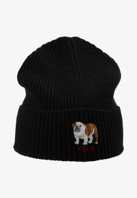 Polo Ralph Lauren - BULLDOG HAT - Bonnet - black - 4