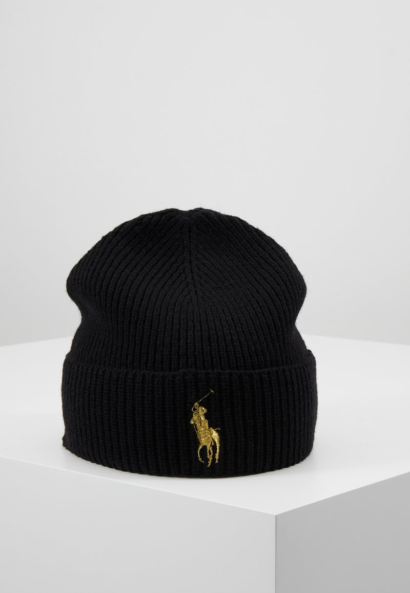 Polo Ralph Lauren - Bonnet - black/gold