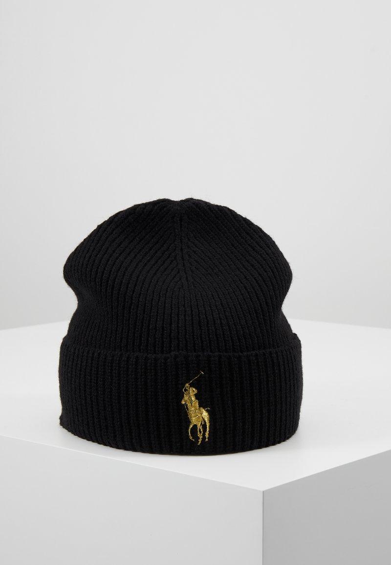 Polo Ralph Lauren - Bonnet - black/gold