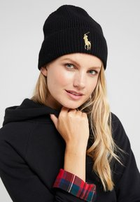 Polo Ralph Lauren - Bonnet - black/gold - 3