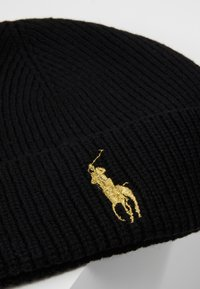 Polo Ralph Lauren - Bonnet - black/gold - 5