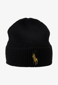 Polo Ralph Lauren - Bonnet - black/gold - 4