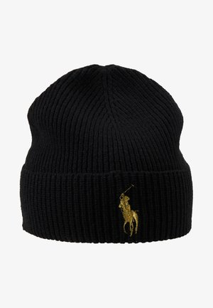 Bonnet - black/gold