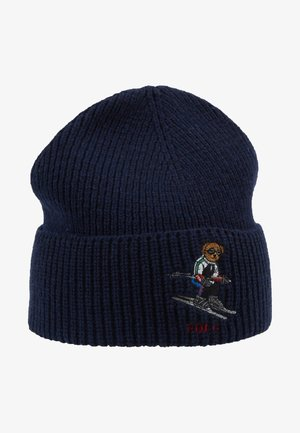 SKI BEAR - Bonnet - navy