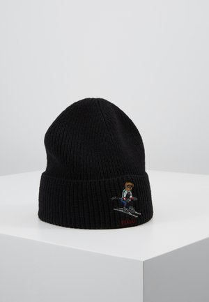 SKI BEAR - Gorro - black