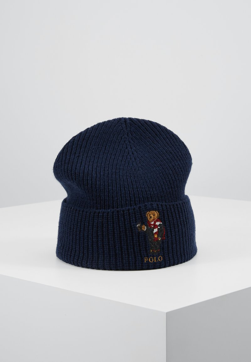 Polo Ralph Lauren - COCOA BEAR - Bonnet - navy