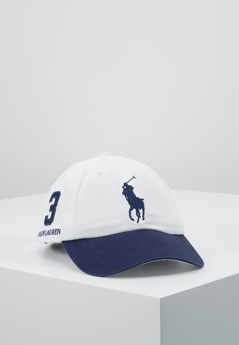 Polo Ralph Lauren - CLASSIC SPORT CAP  - Cappellino - white/newport navy