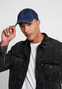 Polo Ralph Lauren - CLASSIC SPORT  - Caps - dark wash denim - 1