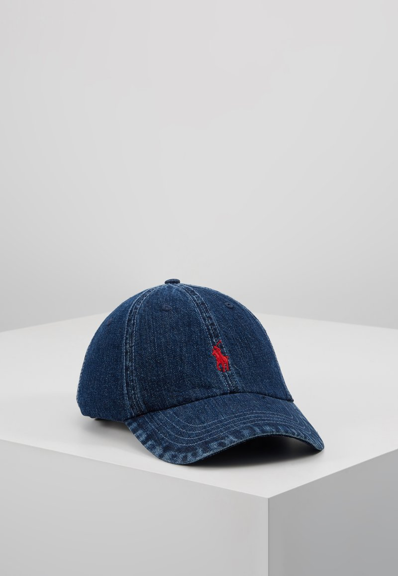 Polo Ralph Lauren - CLASSIC SPORT  - Cap - dark wash denim