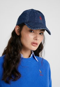 Polo Ralph Lauren - CLASSIC SPORT  - Caps - dark wash denim - 4