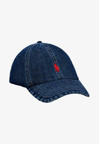 Polo Ralph Lauren - CLASSIC SPORT  - Caps - dark wash denim - 5