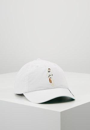NEW BOND HAT - Kšiltovka - pure white