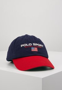 Polo Ralph Lauren - POLO SPORT CLASSIC  - Pet - dark blue/red - 0