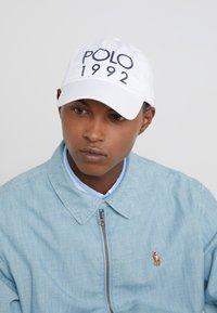 Polo Ralph Lauren - CLASSIC SPORT - Czapka z daszkiem - pure white - 1