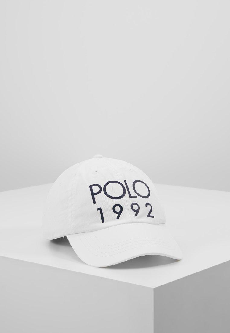 Polo Ralph Lauren - CLASSIC SPORT - Czapka z daszkiem - pure white