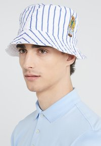 Polo Ralph Lauren - REVERSIBLE BUCKET CAP - Hoed - blue/white - 1