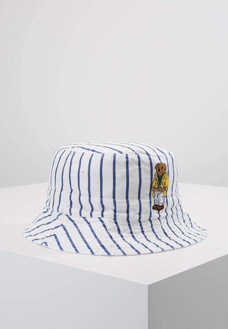 Polo Ralph Lauren - REVERSIBLE BUCKET CAP - Sombrero - blue/white