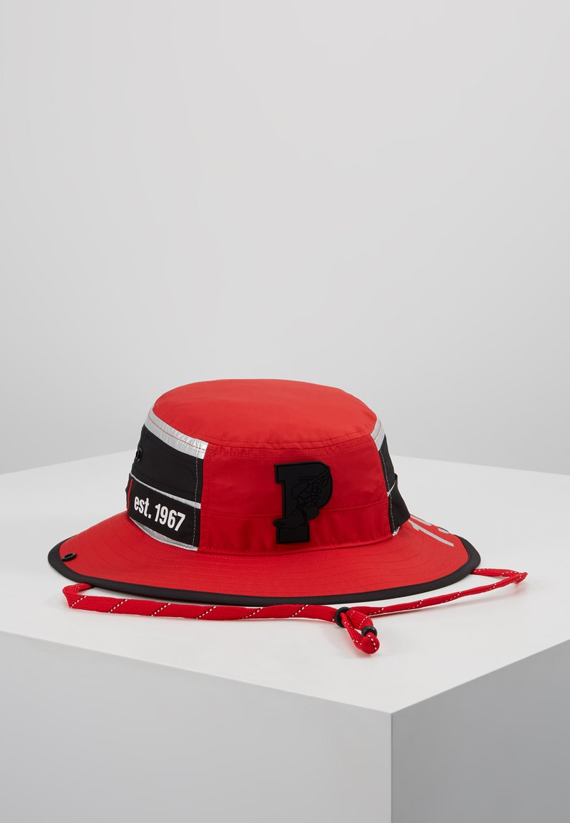 Polo Ralph Lauren - BOONEY CAP HAT - Hat - injection red/silver